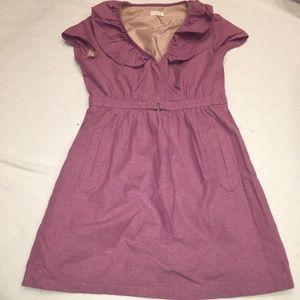 Tulle Mini Checkered Dress